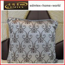 Bordados decorativos almofada de veludo de moda travesseiro (edm0334)