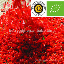 goji berries organic/goji organic certificate