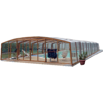 Dæk Plexiglas Swimming Pool Cover Polycarbonat