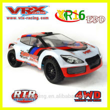 VRX гонки 1/16th 4WD щеткой электрические ралли, высокая скорость RC игрушка с хорошим качеством