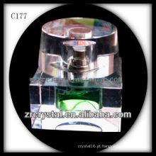 Garrafa De Perfume De Cristal Agradável C177
