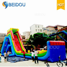 2016 Hot Sale Factory Cheap Giant Adult gonflable Water Slide
