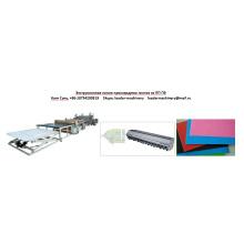 Ligne simple d'extrusion de feuille de PE de PE de PE d'ABS ou de multi-couche
