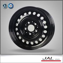 """15x7 """"color negro brillante llantas de coches bordes fabricados en China"""