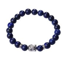 Lapis Lazuli 8MM Gemstone Buddhism Prayer Beads Bracelets