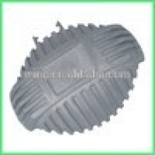 motorcycle part with sand blasting
