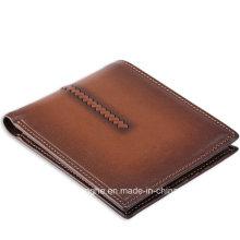 Nouveau produit Brown Vintage Fold Man Purse (ZX10205)