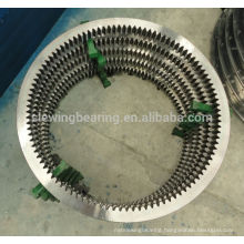 Thin section light series Crossed roller bearing Precision slewing ring for Robotic