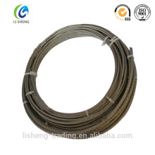 Cable de acero galvanizado 1x19