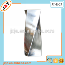 twisted metal window curtain rod with fashion accessories