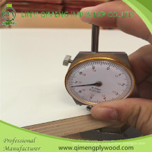 1220X2440X16mm Poplar or Hardwood Core E1 Glue Firproof HPL Plywood with Cheaper Price