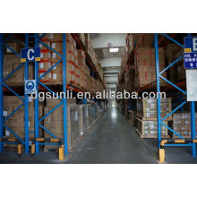 heavy selective pallet racking