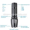 G700 X800 Super brillante XM-L T6 LED Zoom Tactical linterna con 18650 o 26650