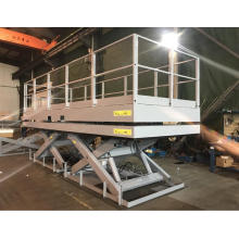 Twin lift loading platform