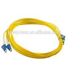 LC cabo de fibra óptica, sm dx cabo de fibra óptica patch, jumper de fibra óptica feita na China