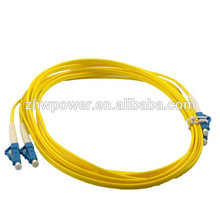 LC волоконно-оптический кабель, sm dx оптоволоконный патч-корд, оптоволоконная перемычка, сделанная в Китае