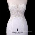 Sleeveless sehen durch vestido de noiva Brautkleidspitze-Hochzeitskleid-Nixe-Brautkleider 2016