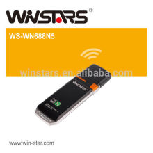 300Mbps DualBand Wireless USB 2.0 Adapter with WPS button