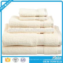 Nuevo baño de toalla de felpa estilo 6pcs para American Market
