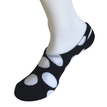 Medio cojín poli moda big círculos mandril calcetines (jmpck03)