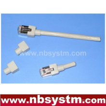 UTP / FTP cable de cable de parche Cat5e