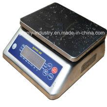 Digital impermeável em aço inoxidável pesagem contando escala com certificado CE