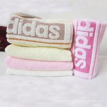 Factory Supply Customized Logo Cotton Sauna Towel
