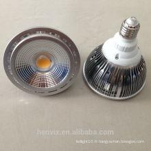 Spot de cob spot conduit, projecteur à LED portatif E27