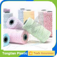 Ficelle d'emballage de cadeau 110 verges / bobine 100% de ficelles de ficelle de coton de ficelles