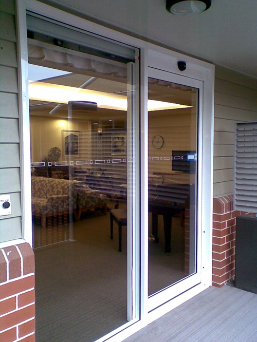 Automatic Sliding Doors for House Entrance Systems
