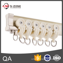 High quality aluminum flexible curved curtain rail with cheap price