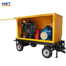 Moteur diesel à pompe à eau de 100 CV