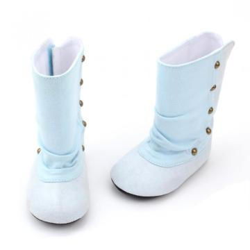 Echt leer Snow Baby Boot Winter