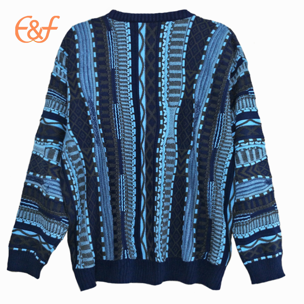 Plus Size Solid Cable Knit Sweater
