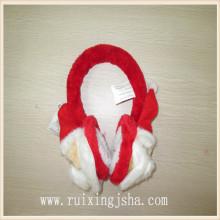 Muff da orelha de inverno moda pai Natal