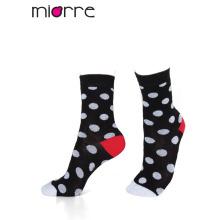 Подгонянный Miorre ОЕМ женские моды красочные хлопок носки 3 цвета
