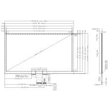 Kapazitiver AMT 23,8-Zoll-Touchscreen P3034-A20