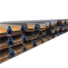 PU type sheet pile series SY295 SY390 PU400X100MM