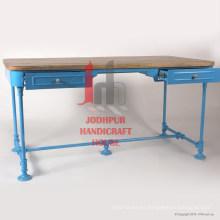 Mesa de la consola del cajón del hierro