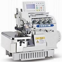 Máquina de coser overlock completamente automática computarizada de accionamiento directo