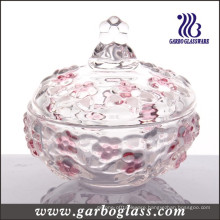 Blue Grape Glass Sugar Container (GB1807MH-1/PDS)