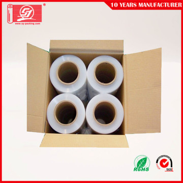 Gjut LLDPE Shrink Wrap Transparent Pallet Stretch Film
