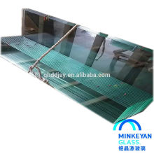 4mm edge polish tempered glass for shower door with SGCC and CCC