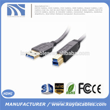 Super speed USB 3.0 AM/BM A male to B male 5Gbps gold plated connector printer cable