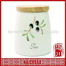 Keramik-Aufbewahrungsglas-Gummidichtung