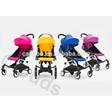 Universal Wheel Portable Luxury Baby Strollers / Foldable Pram Eco friendly with rain cover