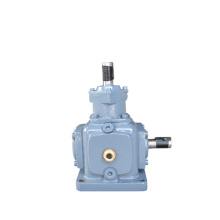 T series Spiral Agriculture Gearbox 90 Degree Gearbox Steering Box Manufacturer