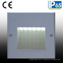 IP65 LED Recessed Step Wall Light for Square (JP817187)