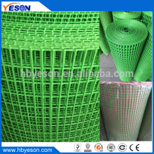 10m Indian popular rectangular green pvc coated welded wire mesh