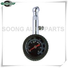 Caudal baixo Dial Metal pneu calibre com válvula de liberação de ar